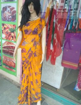 shiffon saree