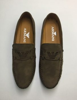 Armani Dark Brown Shoe